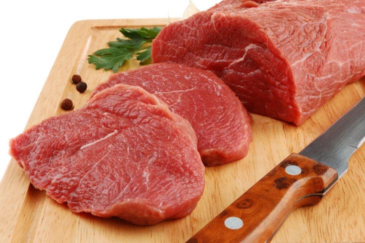 Kiêng thịt bò để hạn chế gây thâm tại vết thương khi lành
