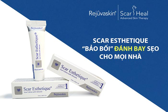 Kem điều trị sẹo Scar Esthetique 10 ml đánh bay sẹo, trả lại làn da láng mịn (*)