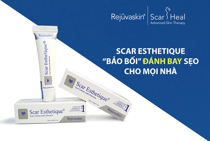 Kem trị sẹo mới Scar Esthetique