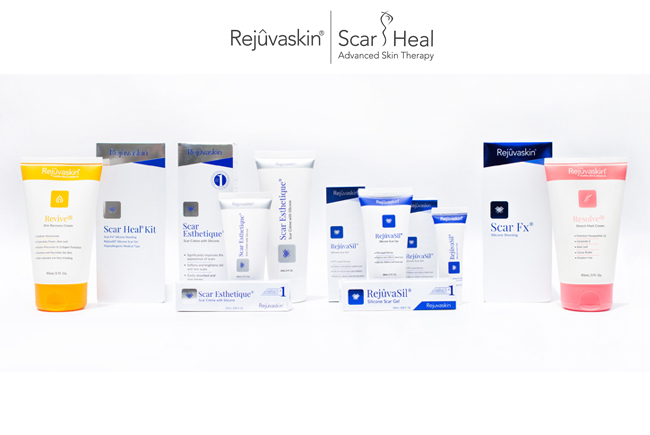 Sản phẩm trị sẹo, chăm sóc da của Rejuvaskin Việt Nam