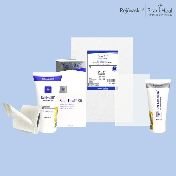Các sản phẩm trị sẹo của thương hiệu Rejuvaskin