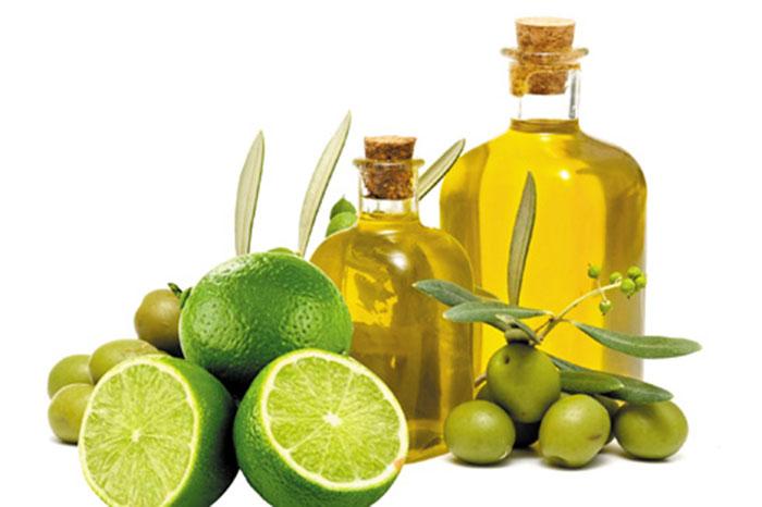 Công thức chanh và dầu oliu sẽ giúp làm mờ sẹo thâm