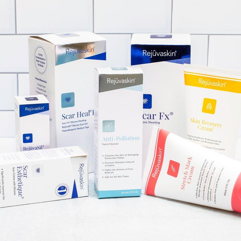Rejuvaskin cung cấp đa dạng các dòng sản phẩm trị sẹo và chăm sóc da hư tổn