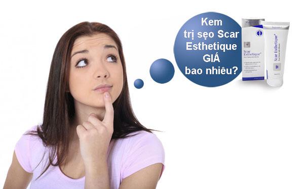 Giá kem trị seo Scar Esthetique tại thị trường Việt Nam