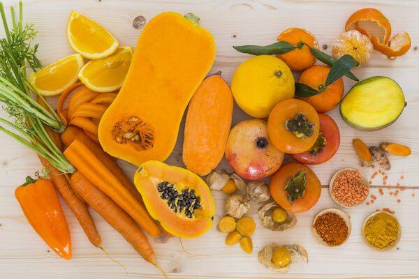 Thêm vào thực đơn hằng ngày các loại trái cây có chứa beta –carotene